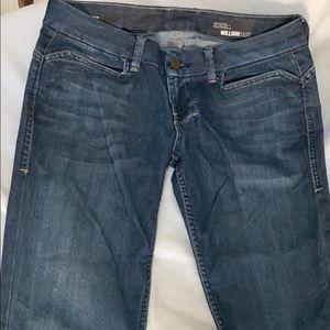 William Rast dark blue denim jeans FLARE size 31